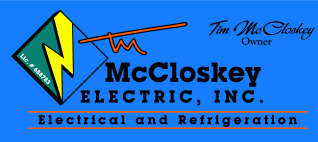 Tim McCloskey Electric, Inc. Logo
